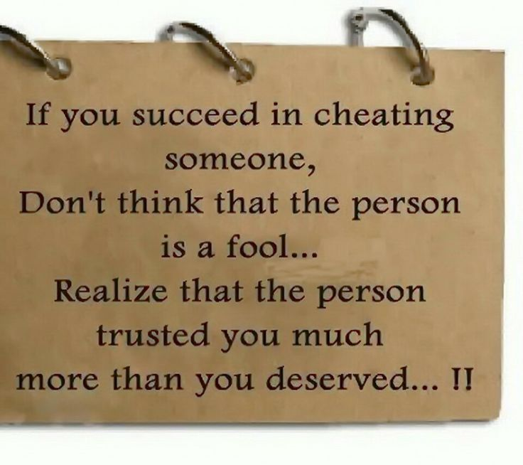 Trust Quotes If You Succeed In Cheating Someone Don't Think That The Person Is A Fool
