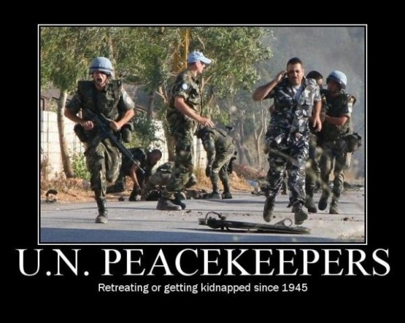 Un peacekeepers Army Memes