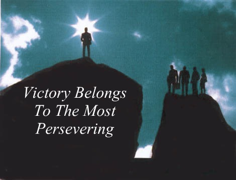 Victory Sayings victory belongs to the most persevering