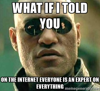 What If I Told You On The Internet Internet Meme