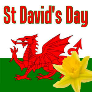 Wishing You Happy St David's Day Wishes Message Image