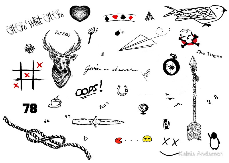 beautiful louis tomlinson tattoo For men's