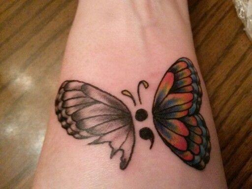 custom bipolar tattoos on arm For girls