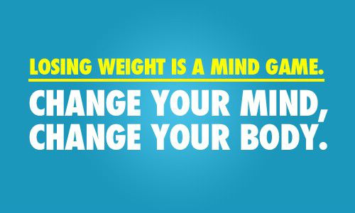 diet quote losing weight is a mind game change your mind