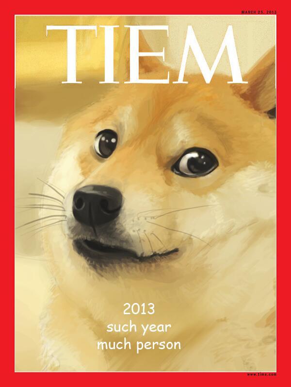 doge meme tiem 2013 such year much person