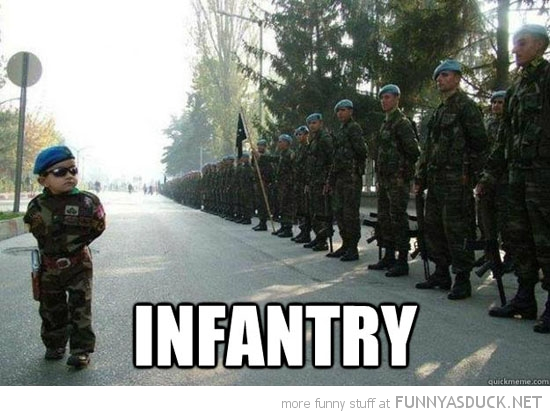 infantry Army Memes