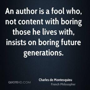 005 Montesquieu Quotes Sayings