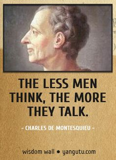 006 Montesquieu Quotes Sayings