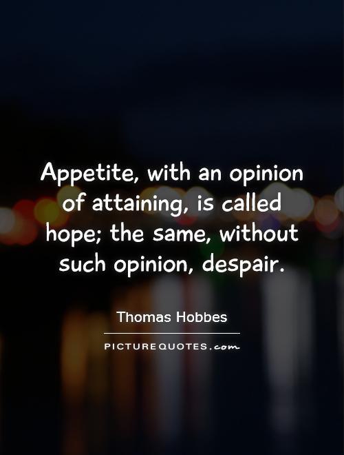 006 Thomas Hobbes Quotes