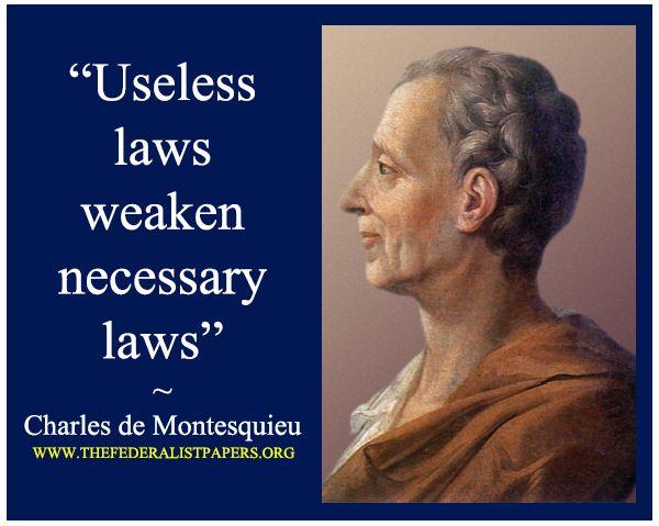 011 Montesquieu Quotes Sayings