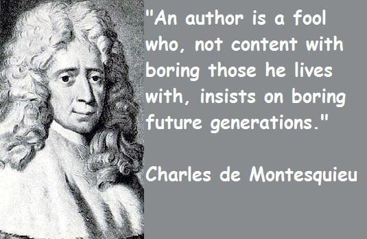 013 Montesquieu Quotes Sayings