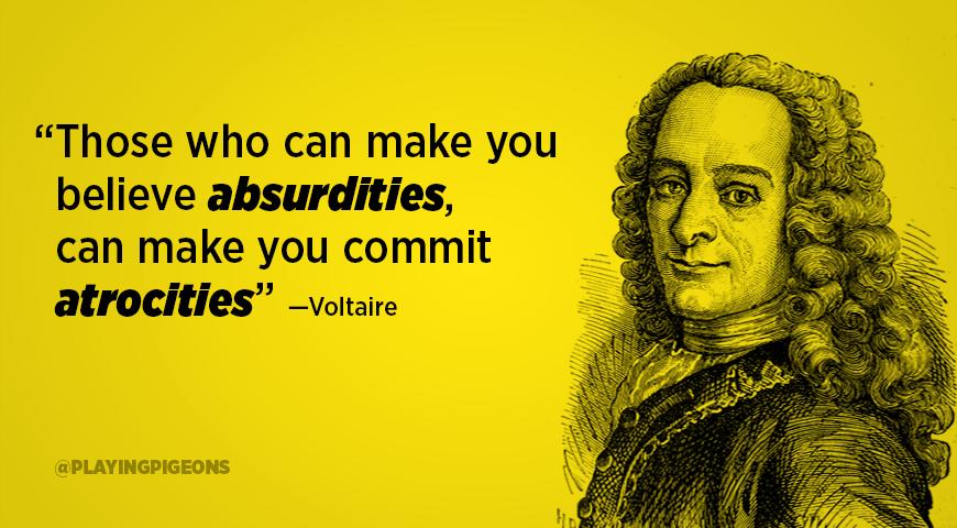 038 Voltaire Quotes