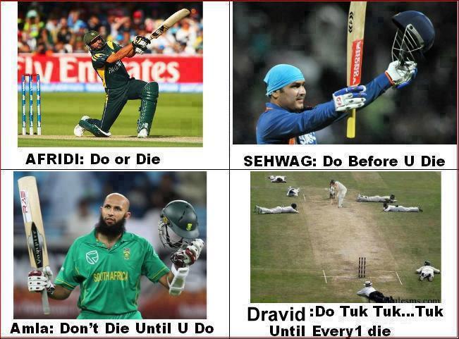 Afraid do or die sehbag go before u die Cricket Meme
