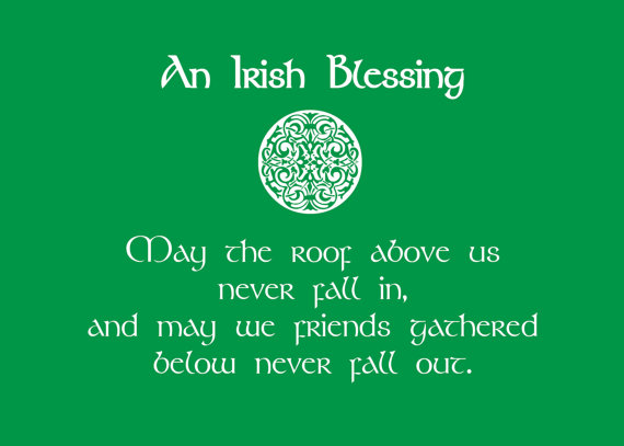 An Irish Blessing St. Patrick's Day Quotes Image