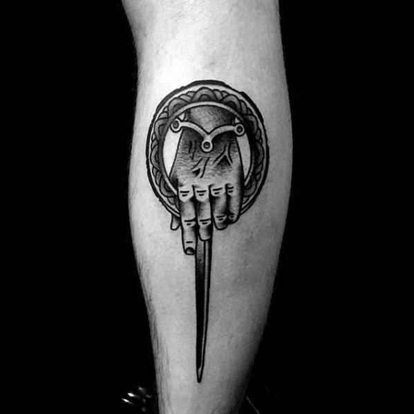 Brilliant Game Of Thrones Tattoo On arm