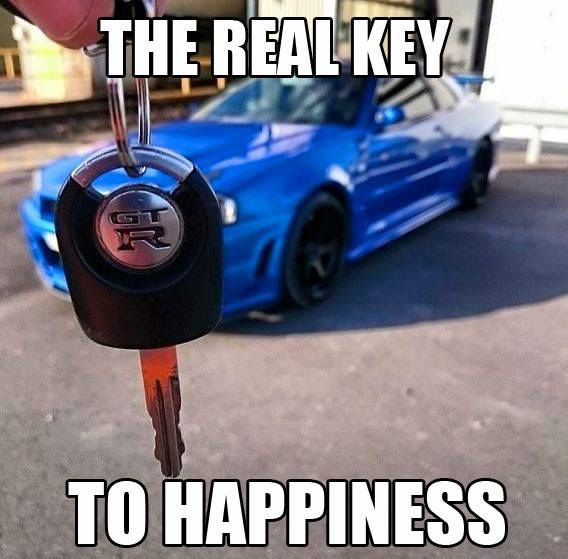 Car Memes the real key to happiness