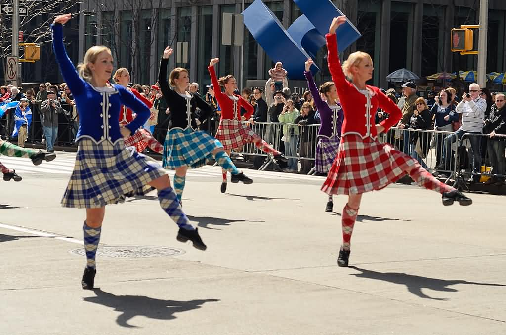 Celebration Tartan Parade Picture
