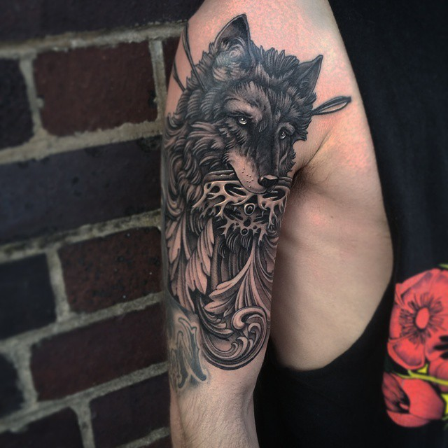 Cool Game Of Thrones Tattoo On shoulder for men