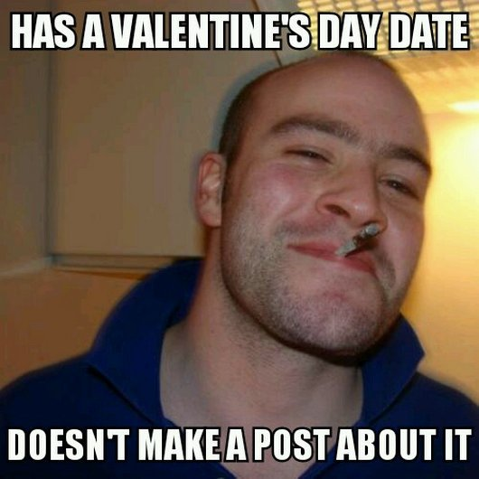 Cool Memes has a valentine's day date doesn't make a post about it