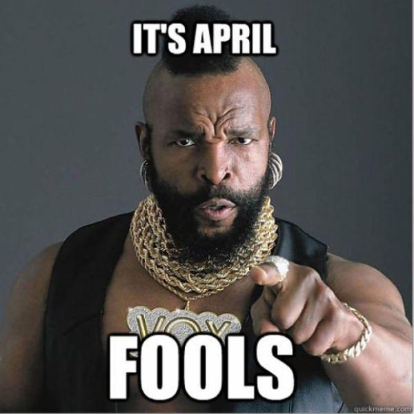 Cool Memes it's April fools