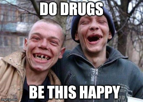 Cops Meme do drugs be this happy