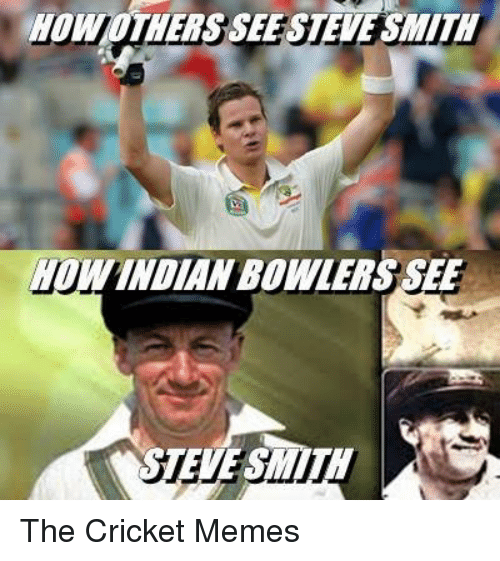 Cricket Meme How other see Steve smith