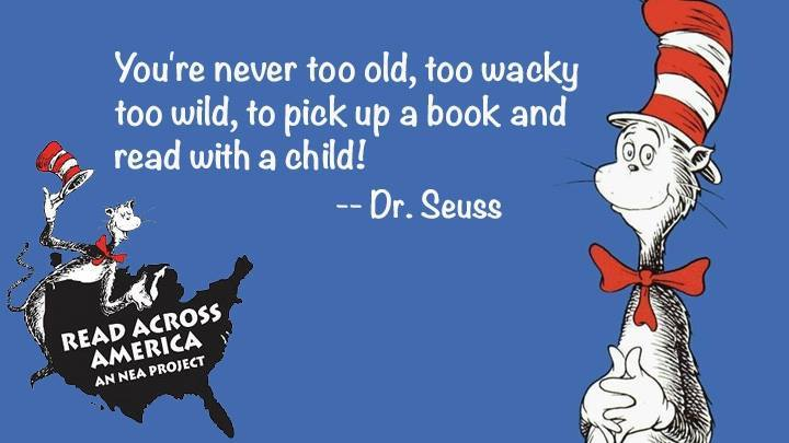 Dr. Seuss Birthday Read Across America Wishes