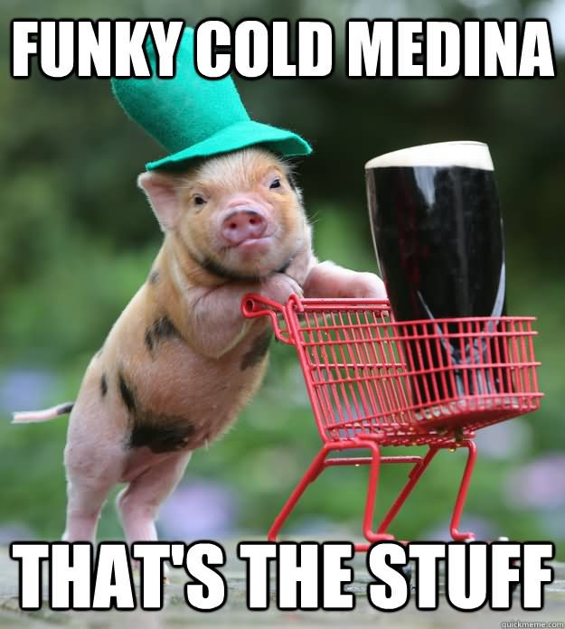 Funky cold medina that's the stuff Monkey Memes