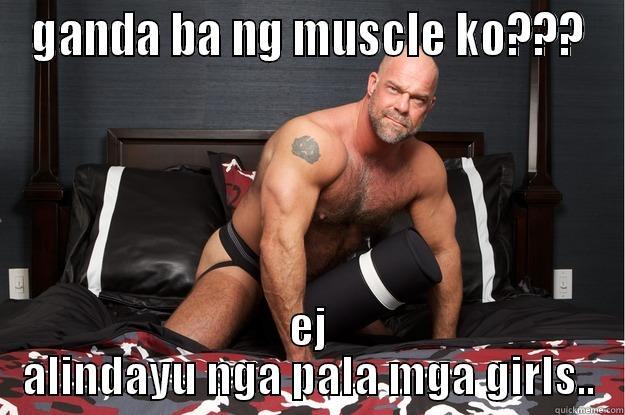 Ganda ba ng muscle ko Muscle Meme