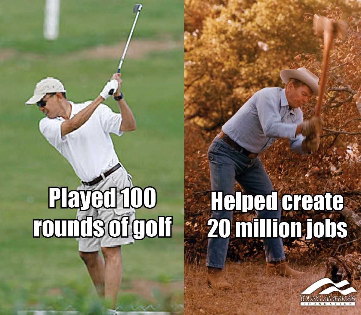 Golf Memes played 100 rounds of golf