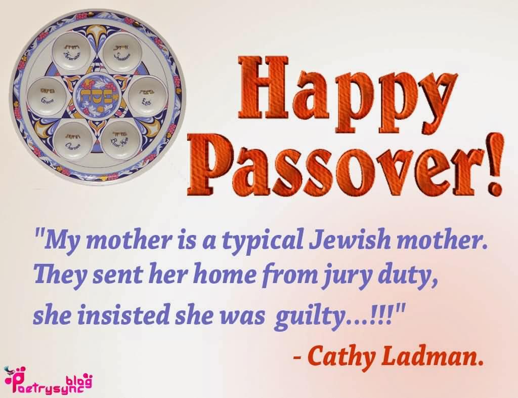 Happy Passover Cathy Ladman Quotes