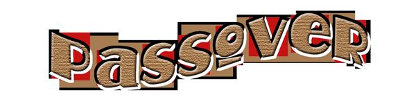 Happy Passover Text Image