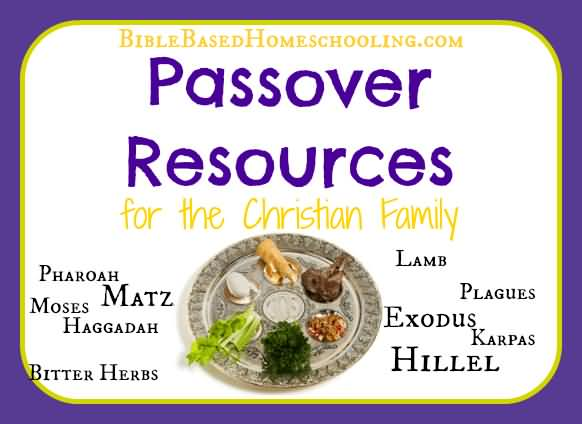 Happy Passover Wishes For The Christian Family