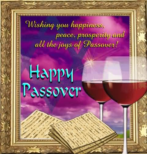 Happy Passover Wishes & Greetings Message Image
