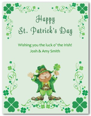Happy St. Patrick's Day Wishes E card Image