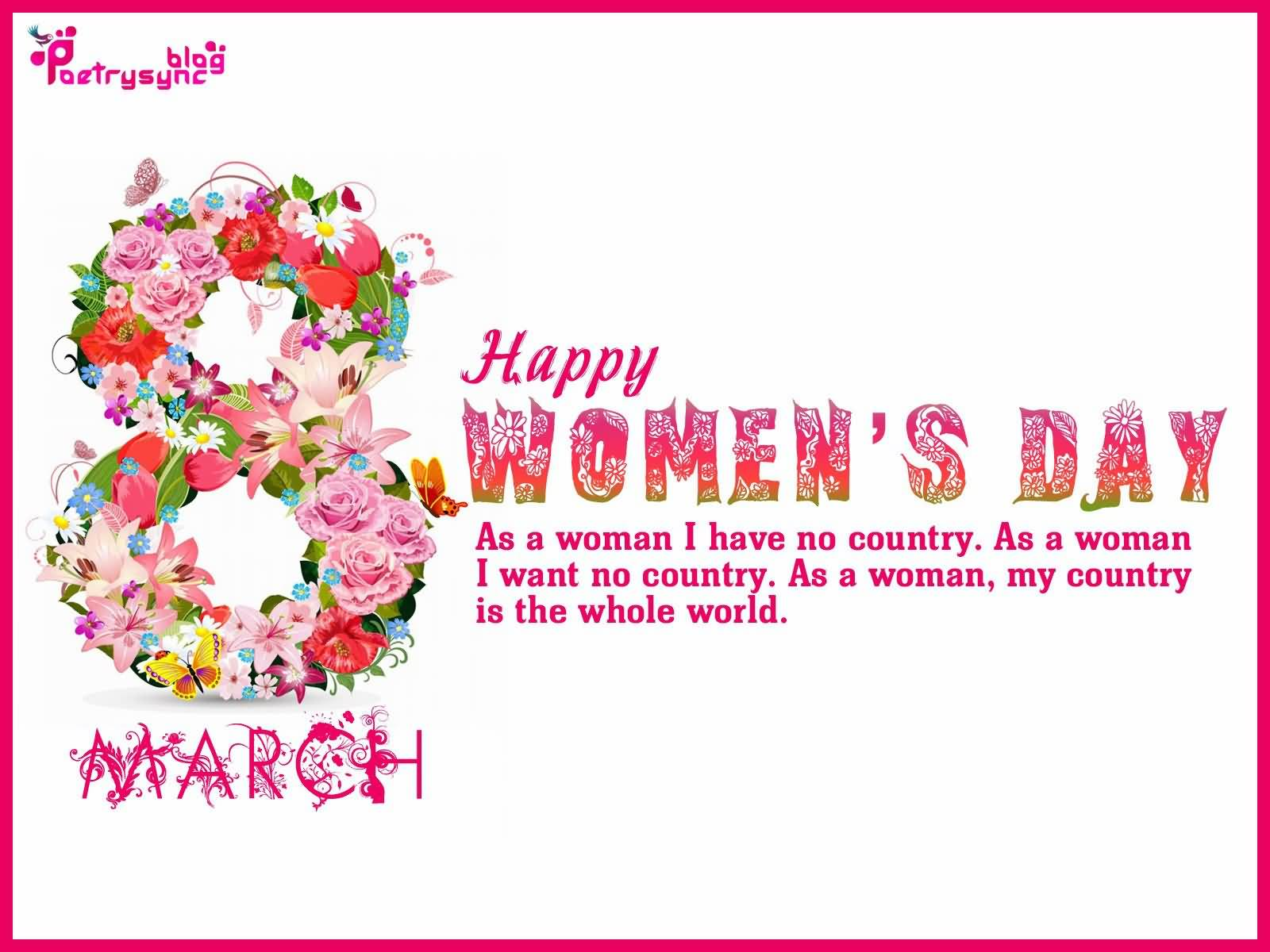 Happy Women's Day 8 March Greetings Quotes For Mother
