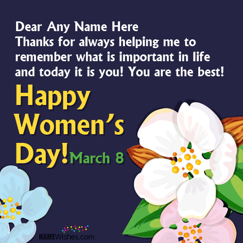 Happy Women's Day Best Wishes Quotes