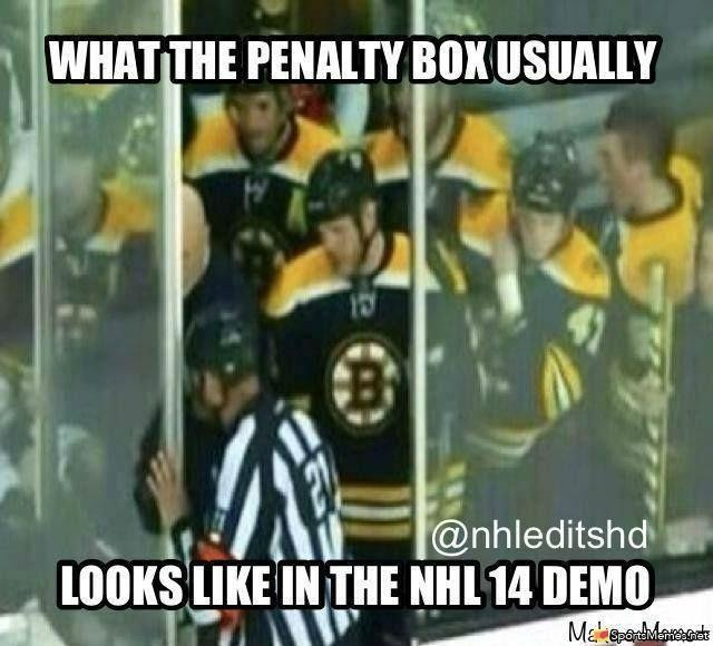 Hockey Meme What the penalty box usually