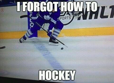 I forgot how to hockey Hockey Memes