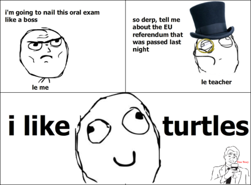 I'm going to nail this oral exam like a boss Exam Meme