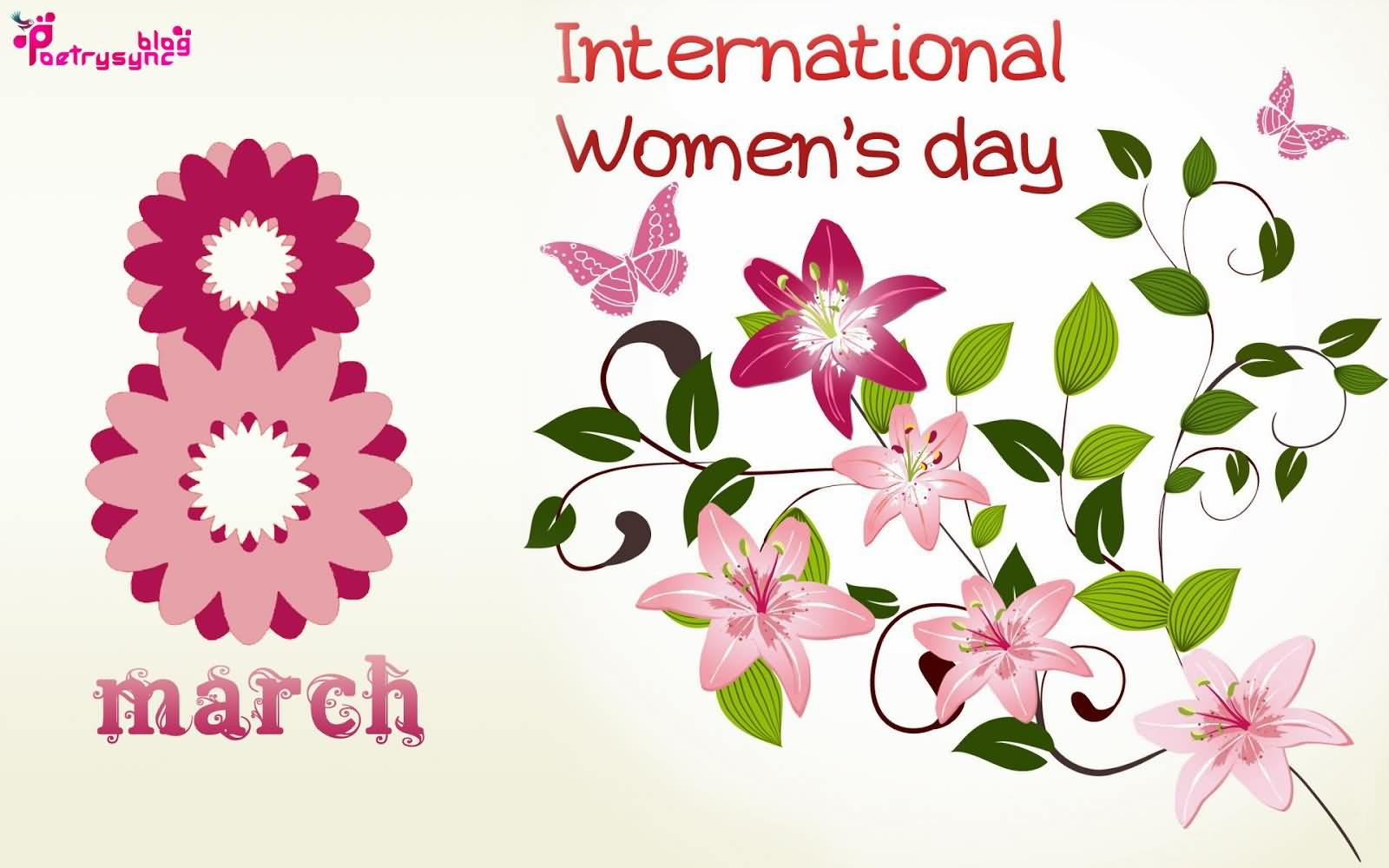International Women's Day Wishes Greetings Image