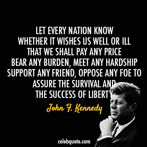 John F Kennedy Quotes Sayings 04