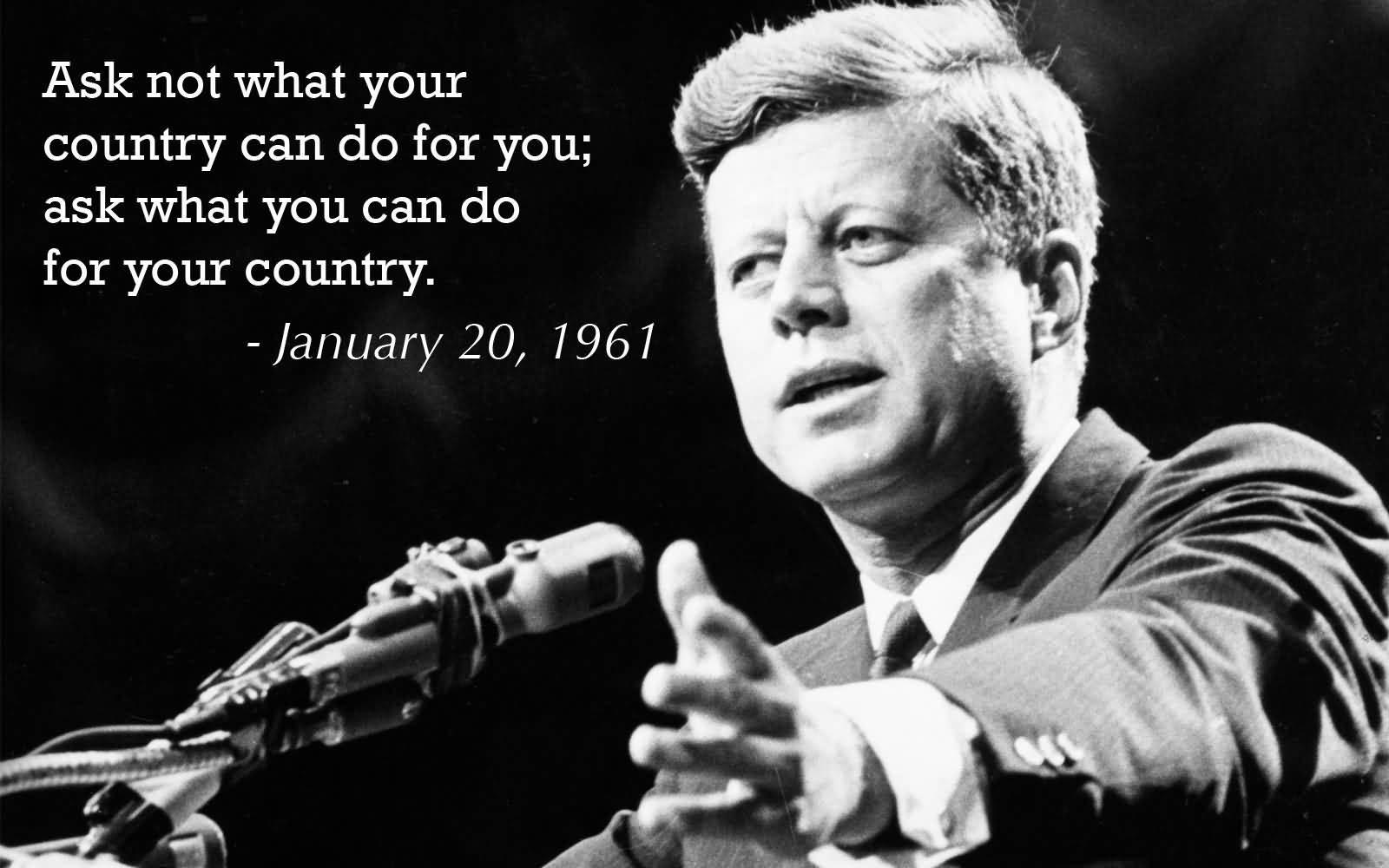 John F Kennedy Quotes Sayings 11