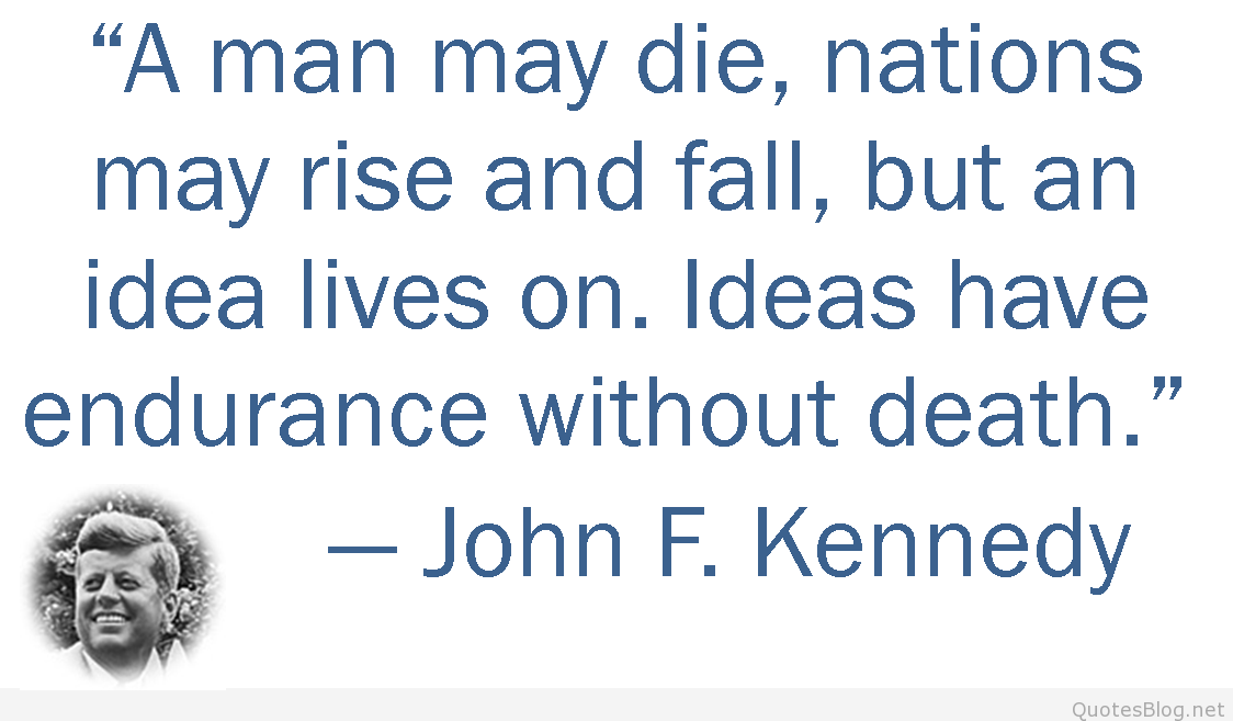 John F Kennedy Quotes Sayings 15