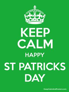 Keep calm Happy St. Patrick's Day Wishes Image