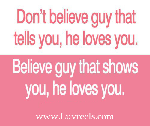 Lovely Love Quotes For Boys