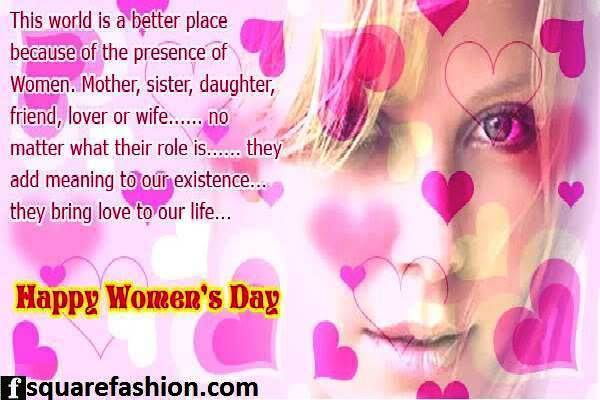 Lovely Quotes Happy Women's Day Wishes Message