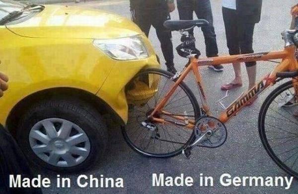Made in china made in germany Bike Meme