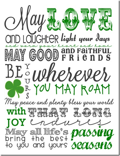 May Love And Laughter Light Your Day St. Patrick's Day