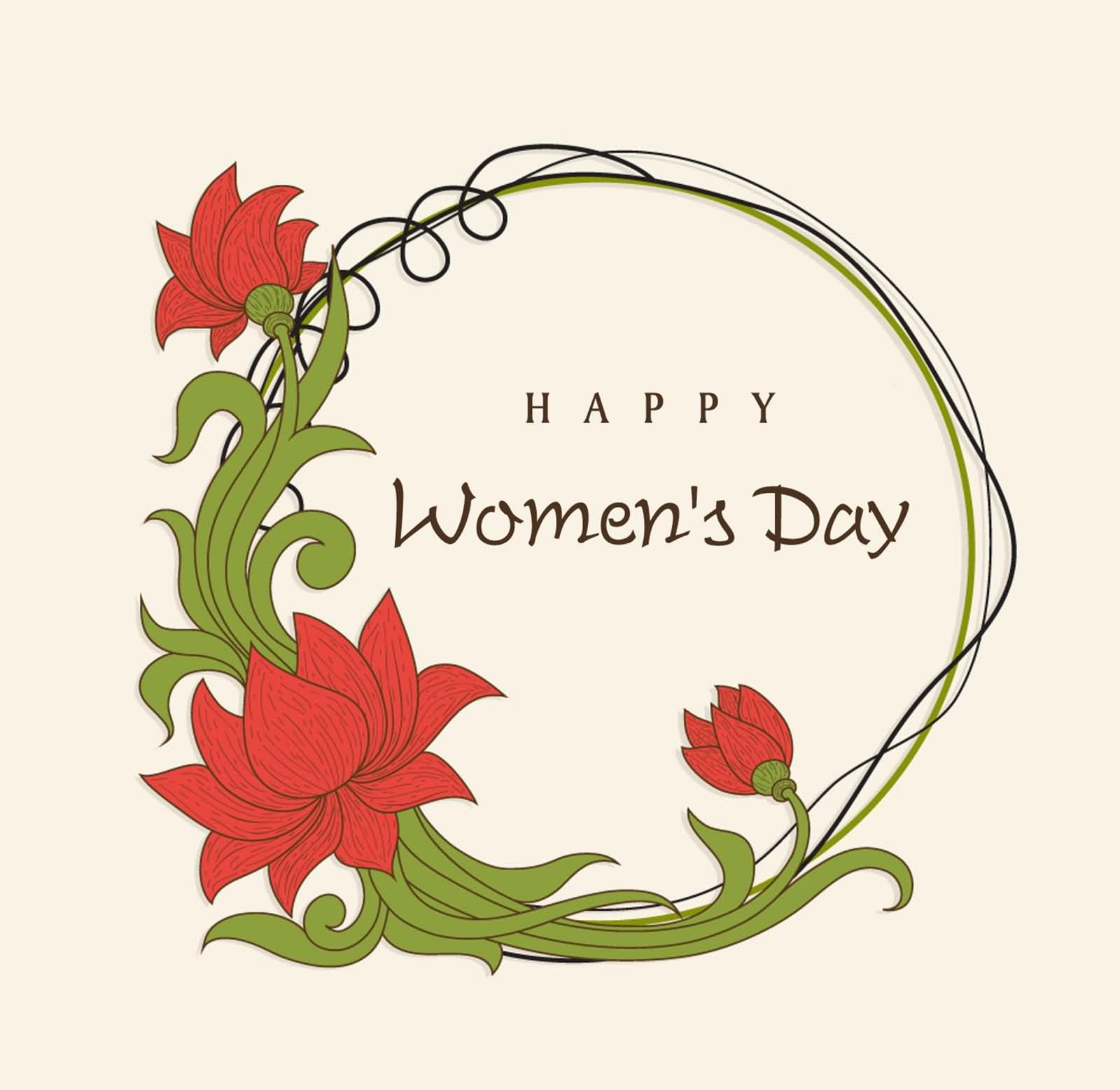 Mother Wish you Happy Women's Day Image